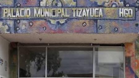 Autoridades de Tizayuca investigan los hechos registrados en la madrugada al interior de la Presidencia Municipal