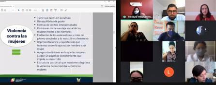 Capacita IHM a la Comisión de Búsqueda de Personas de Hidalgo en perspectiva de género 4