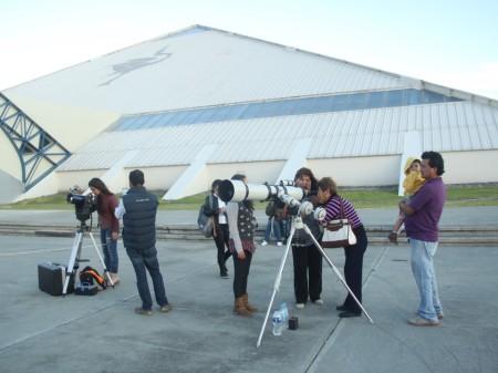 Cielo en Hidalgo permite observar cuerpos celestes, Sociedad de Astronomía UAEH