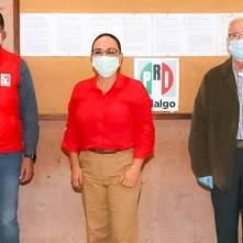 El PRI inicia registro de planillas, cumpliendo los protocolos de salud 1
