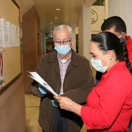 El PRI inicia registro de planillas, cumpliendo los protocolos de salud 3