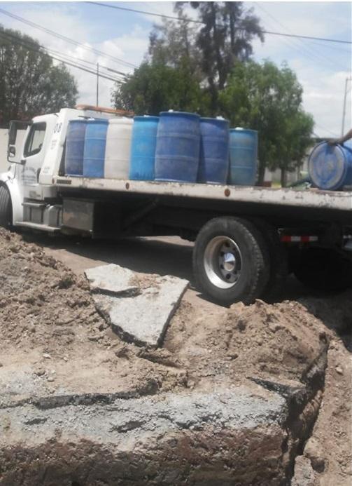 En cateo aseguran nueve mil litros de hidrocarburo, Santiago Tulantepec