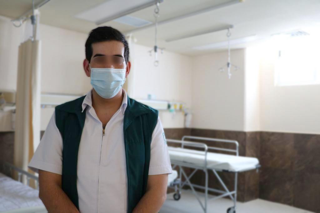 Enfermero del IMSS se recuperó tras dar positivo de covid-19 en dos ocasiones
