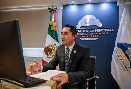 Entrega alcalde Raúl Camacho Baños, su cuarto informe de gobierno1