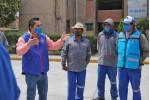Entrega alcalde Raúl Camacho, uniformes a trabajadores de serviciosmunicipales
