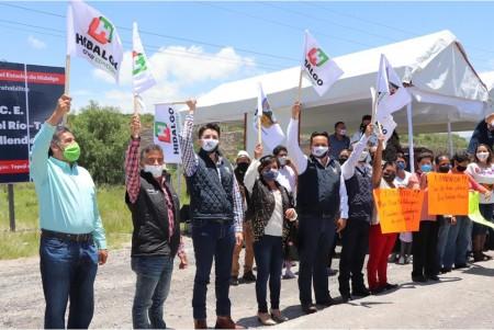 Gobierno de Hidalgo inicia rehabilitación carretera en el municipio de Tepeji del Río2
