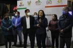 """Inauguran en Tizayuca la obra Movilización del Parque Principal """"Himno Nacional"""""""