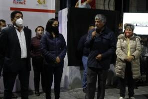 """Inauguran en Tizayuca la obra Movilización del Parque Principal """"Himno Nacional""""2"""