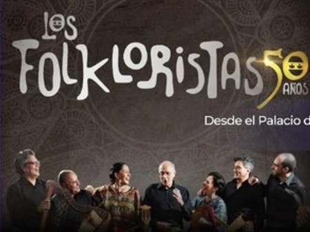 Los Folkloristas celebran medio siglo de carrera artística en el Palacio de Bellas Artes