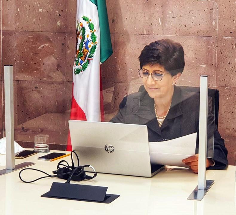 Magistrada presidenta del TSJEH inaugura nueva sede de juzgados en Huejutla