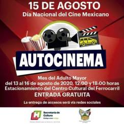 Ofrece Secretaría de Cultura Autocinema gratuito 2
