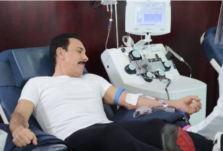 Omar Fayad primer donador de plasma en Hidalgo1