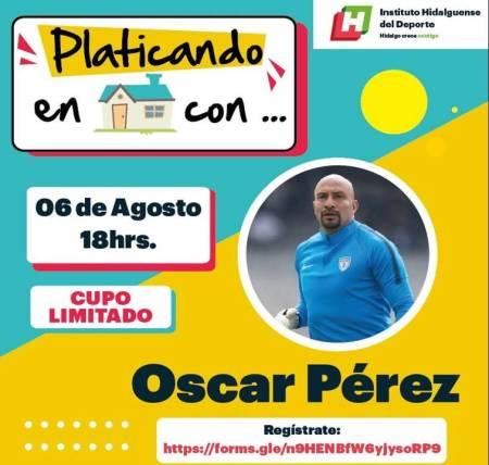 """Óscar """"El Conejo"""" Pérez"""" conversara en vivo a través del panel deportivo 2"""