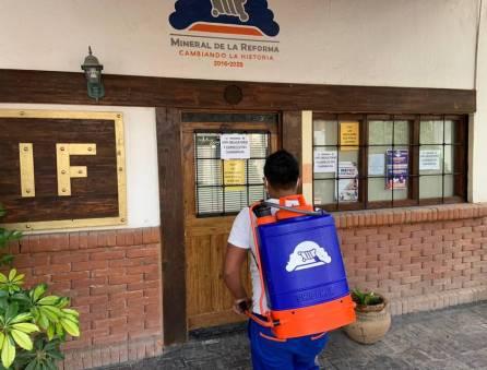 Presidencia municipal de Mineral de la Reforma, seguirá trabajando con guardias ante covid-19-1