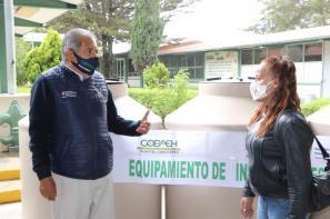 Realiza Gobierno de Hidalgo acciones de fortalecimiento educativo en Cuautepec