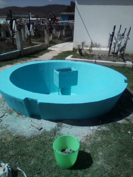 Realizan mantenimiento en panteones de Santiago Tulantepec