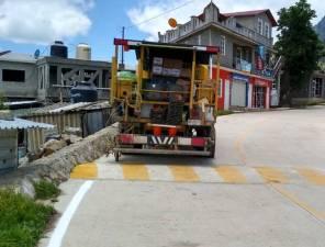 Trabajos de señalamiento en Ixmiquilpan2